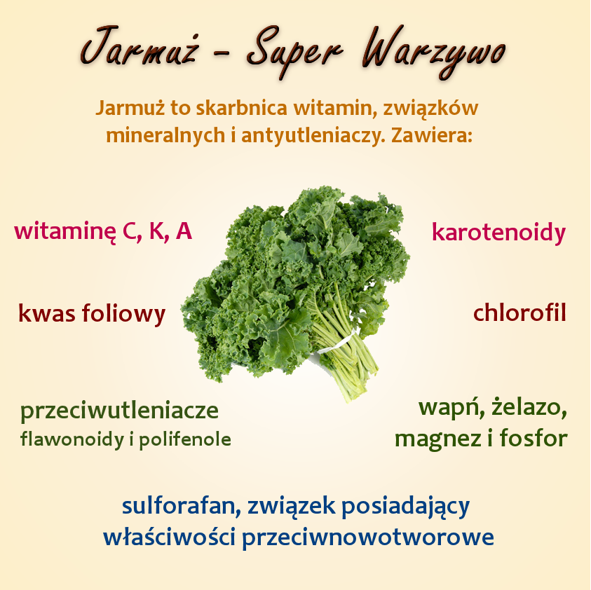 Jarmuż - mało znane, super zdrowe warzywo
