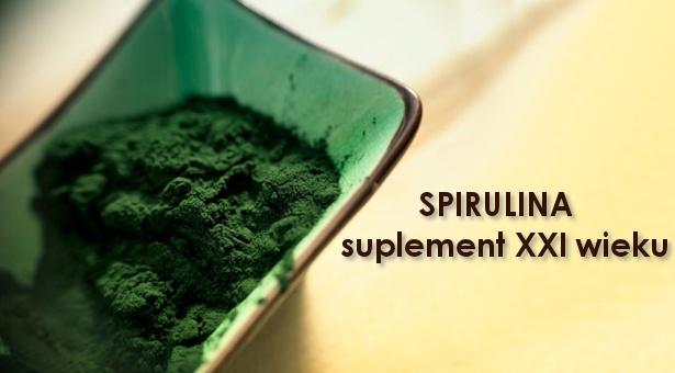 Spirulina – suplement XXI wieku